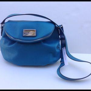 New Marc Jacobs Natasha Leather Messenger Bag